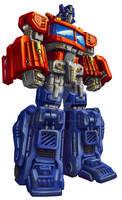 Universe Optimus Prime pkg art