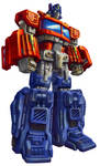 Universe Optimus Prime pkg art