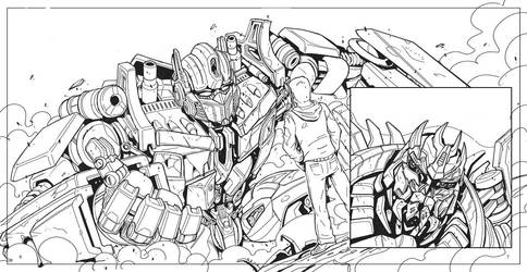 TF Book HFD pg 5- 6 pencils by MarceloMatere