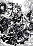 Megatron Zombie sketch