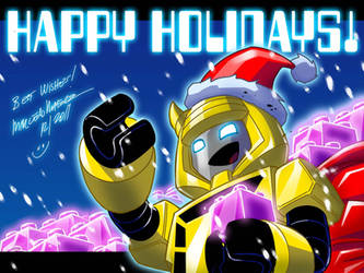 Happy Holidays by MarceloMatere