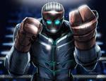 Real Steel Atom Cartoon