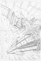 Transformers Robots in Disguise 9 cover pencils. by MarceloMatere