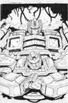 Transformers More Than Meets the Eyes 10 cover ink