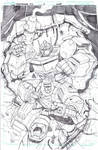 Transformers Robots in Disguise 10 cover pencils
