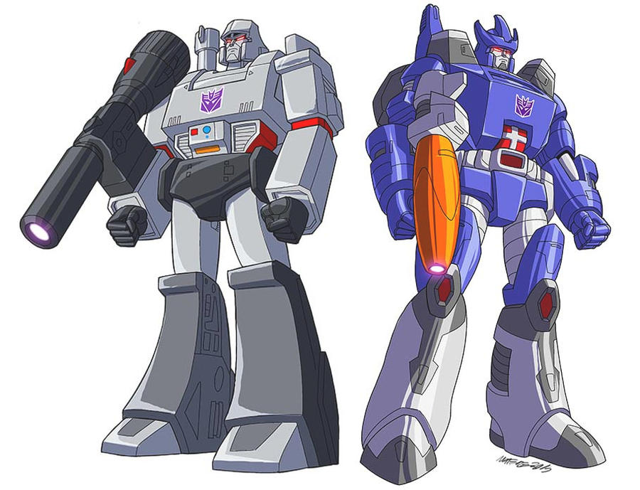 Transformers Generation 1 Cartoon Characters : Transformers decepticons g leaders by marcelomatere on