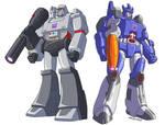 Transformers Decepticons G1 leaders