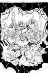 Transformers  Rid  Dark Cybertron 24 cover inks