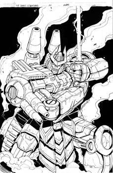 TF Dark Cybertron 11 cover inks