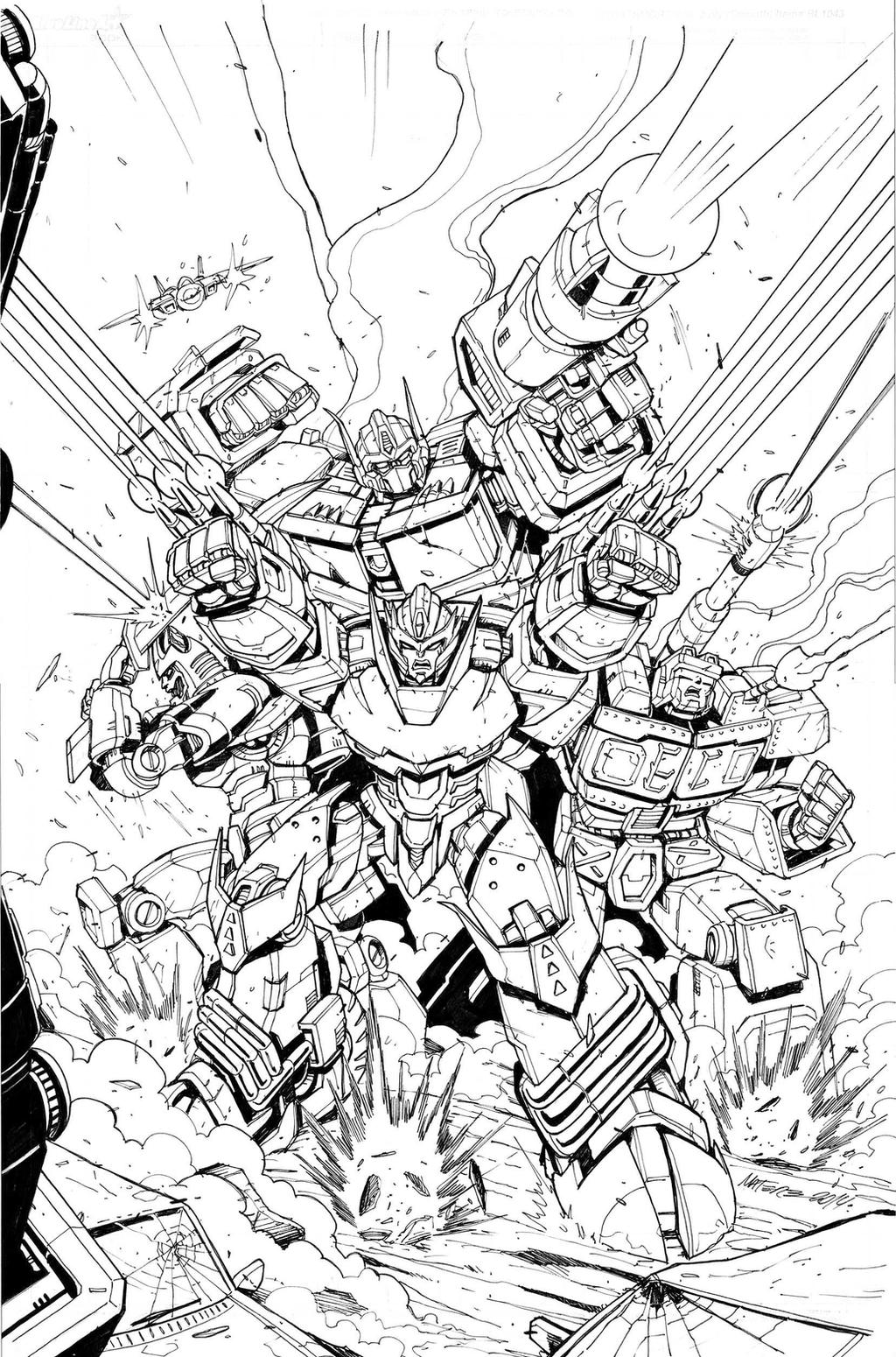 Transformers  MTMTE # 29 Incentive Cover Inks