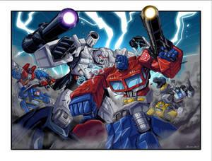 Transformers Acidfree NYCC poster