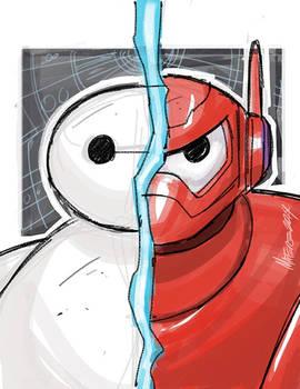 Big Hero 6 Baymax  warmup sketch