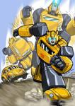 Bumblebee atack