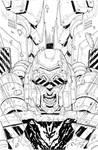 Megatron Origins 1 cover ink