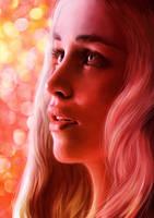 Daenerys Targaryen / Emilia Clarke by junkome