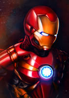 Iron Man by junkome