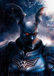 Batman The Merciless by junkome