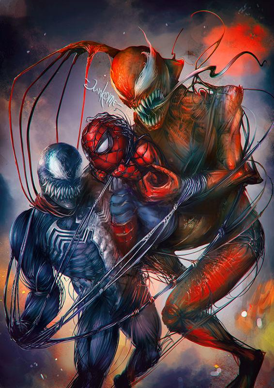 Venom - Spider-Man - Carnage