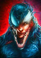 Venom / Tom Hardy by junkome