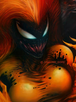 Scream Symbiote by junkome