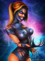 She-Venom by junkome