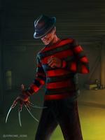 Freddy Krueger by junkome