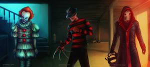 Pennywise / Freddy Krueger / John Kramer