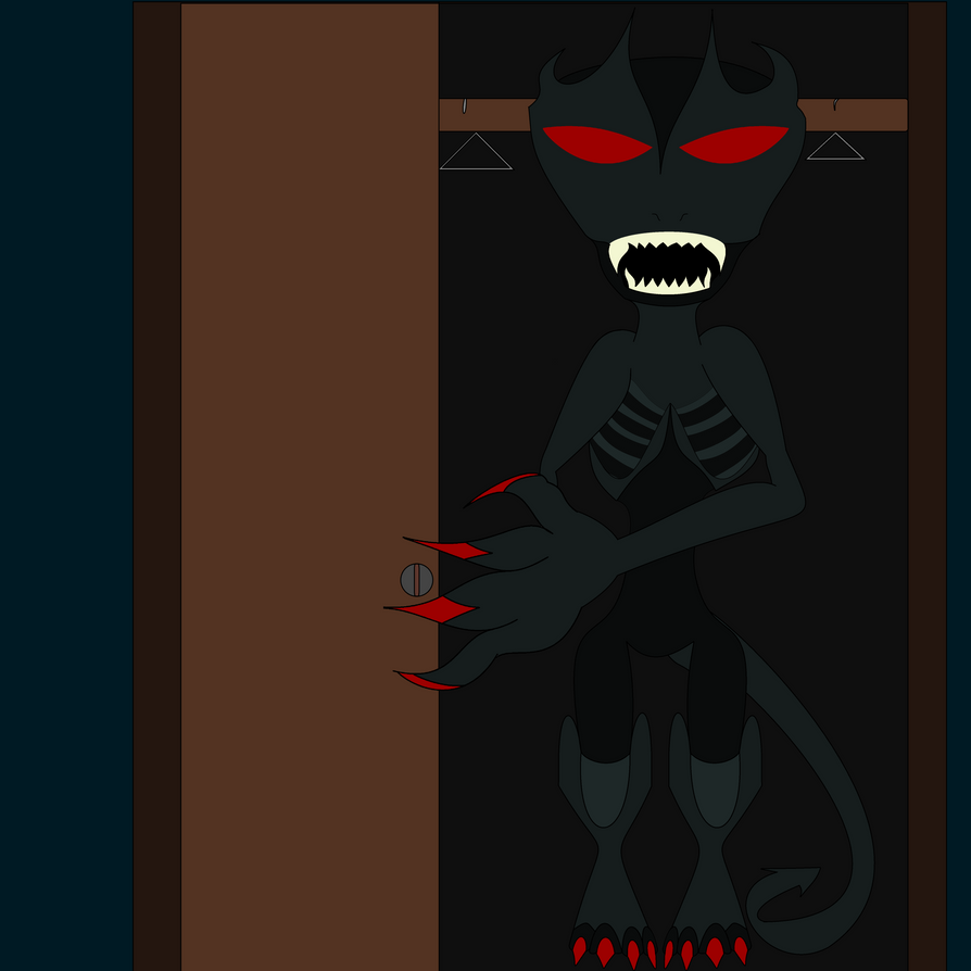 the haunted monster in the closet