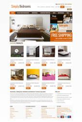 Simply bedroom design by bilalashrafmalik
