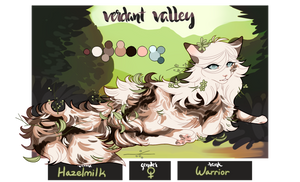 [VV] - Hazelmilk | Female | Warrior by SparrowFlightART