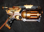 Steampunk Mini Gattling Gun
