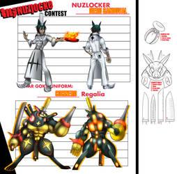 Kill La Nuzlocke Cocinero Regalia by CyberMisadventures