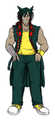 DIego the Typhlosion by CyberMisadventures