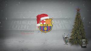 F.C.Barcelona wish u HAPPY NEW YEAR