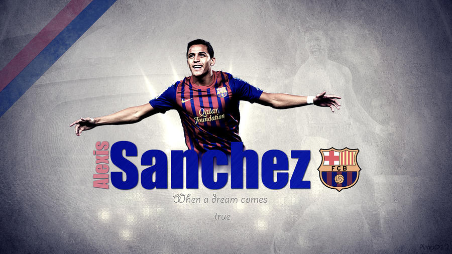 Alexis Sanchez 2013 Wallpaper