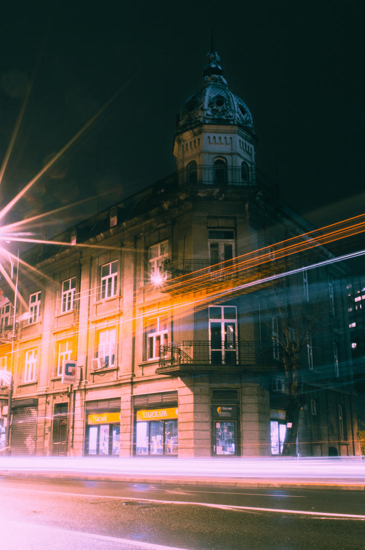 Long Exposure of My City by Pimp017