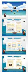 Web Design Haldrada by jpz001