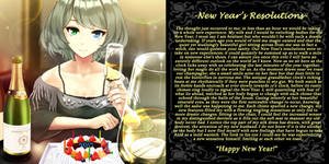 New Year's Resolutions (tg- caption)