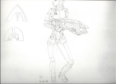 Mass Effect suit