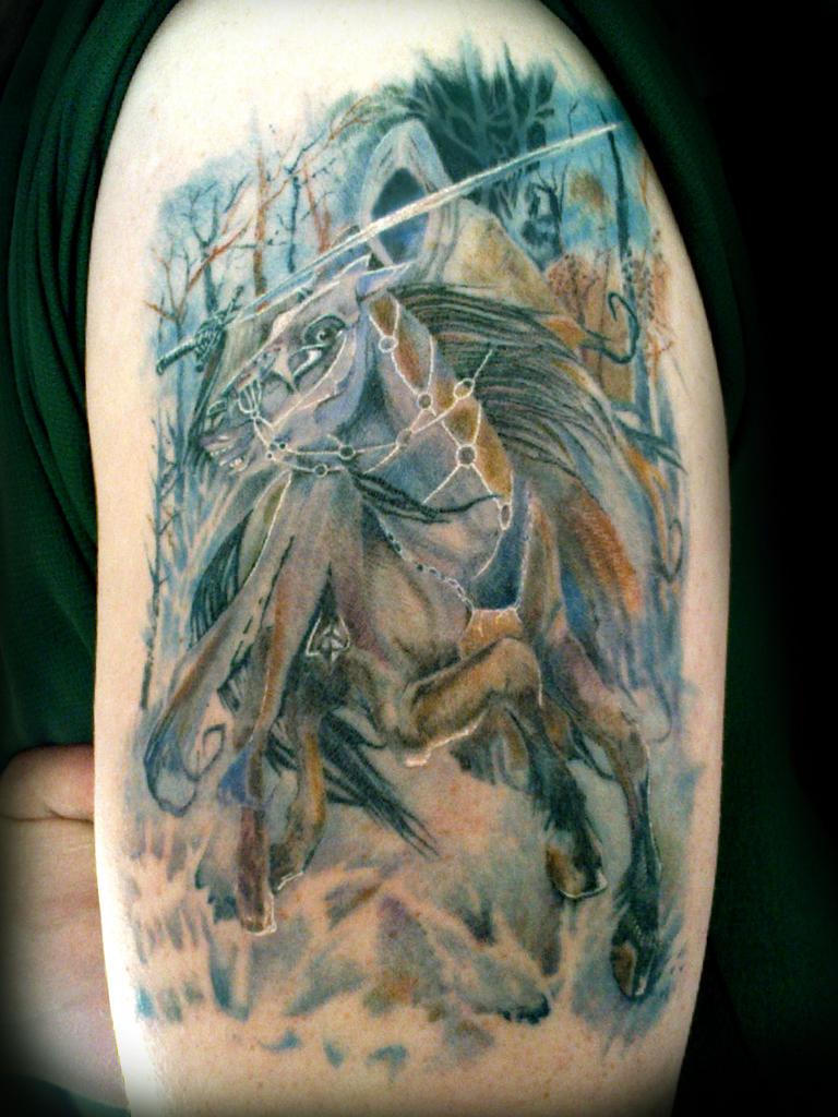 Nazgul Tattoo by taMOKO-Design