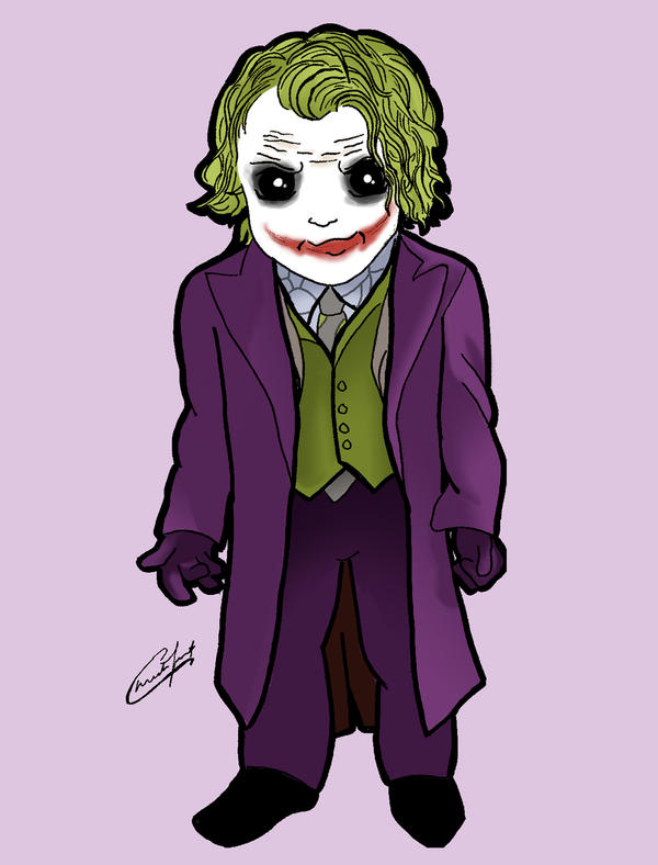 Chibi Joker by stardustx15
