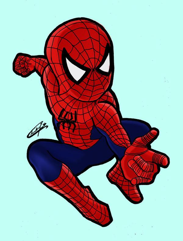 Chibi Spiderman by stardustx15 on DeviantArt