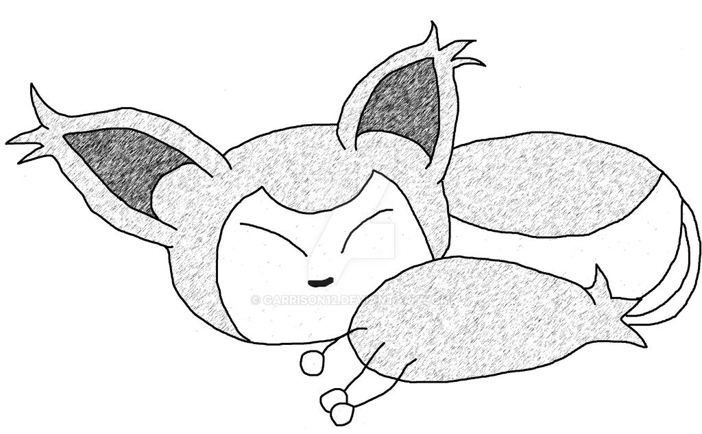 Skitty (Graphic Pen) by Garrison12