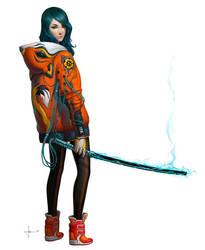 Kitsune by AdrianDadich