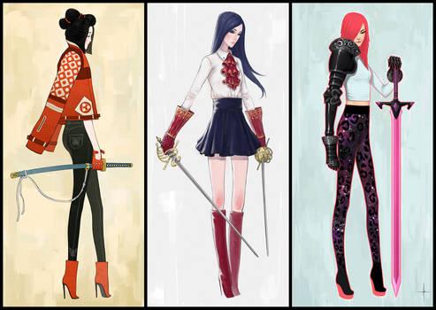 Modern Samurai, Musketeer and Knight