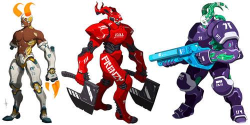 Cyber Demons