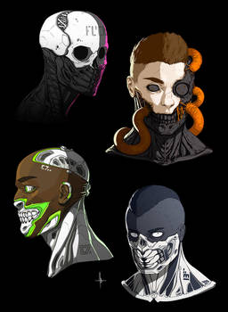 Cyborg Faces