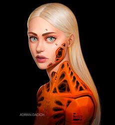 Orange Cyborg