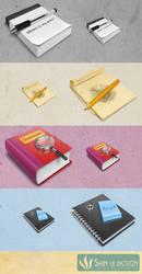 Books 256X4 by Shin-UI