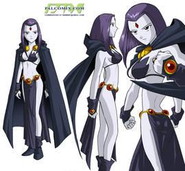 Future Raven - co-op work by dannysulca
